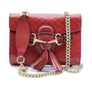 Gucci Emily Microguccissima Mini Shoulder Bag